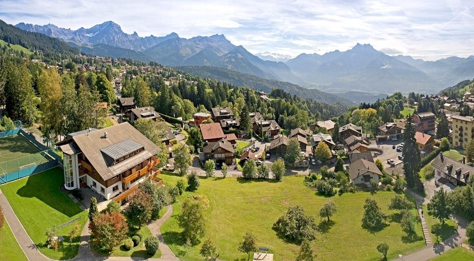 Aiglon College: активные каникулы в Альпах