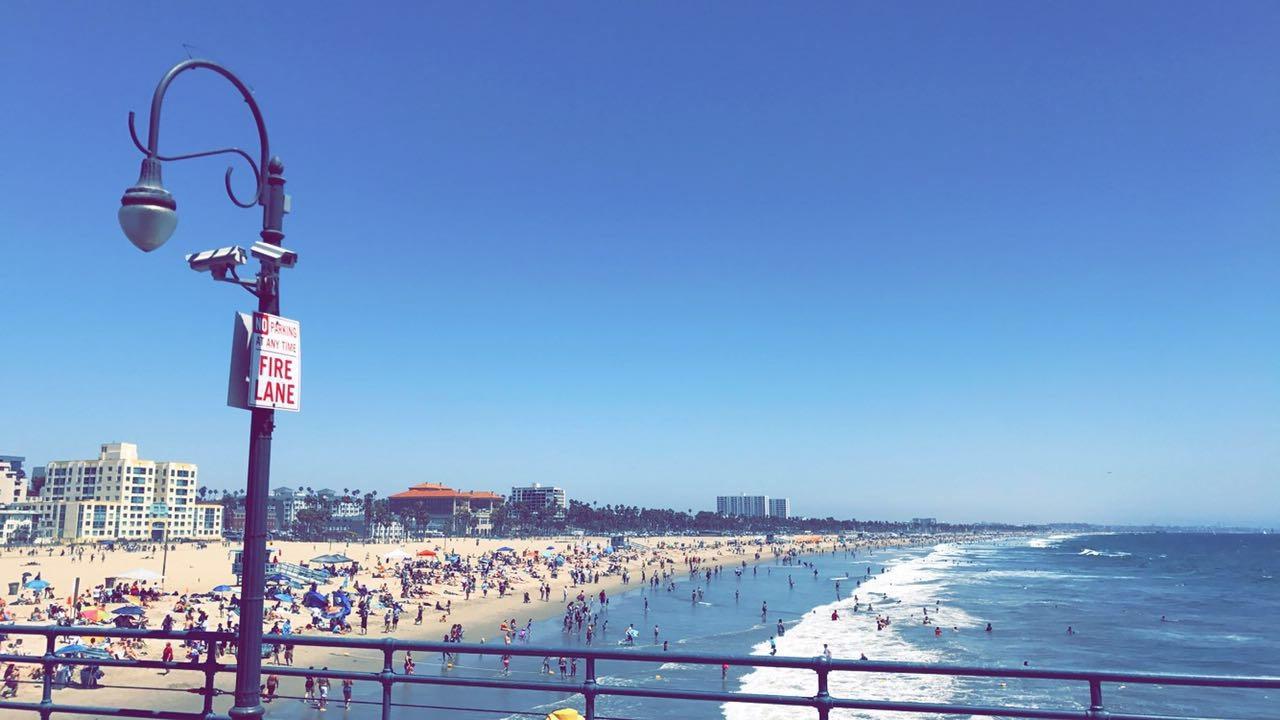 Лето в EC Los Angeles: друзья, океан и английский язык
