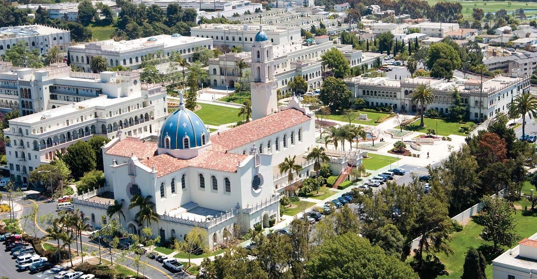 Каникулы в University of San Diego