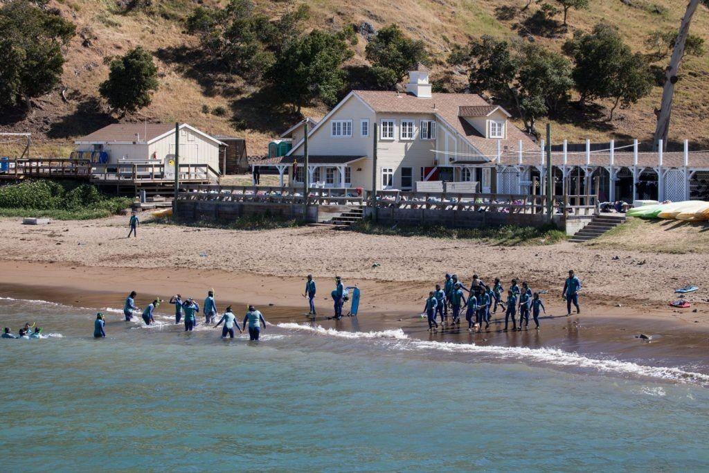 Catalina Island Camps: летний лагерь; лидерская программа