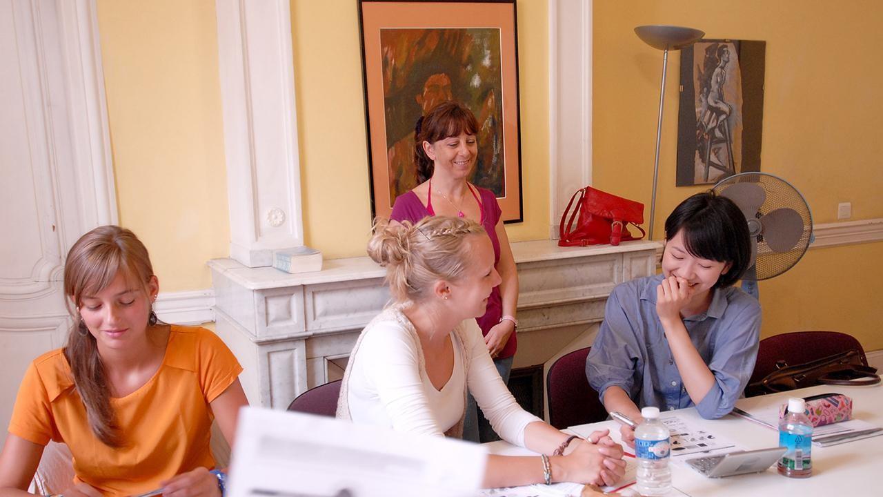 Institut de Francais: интенсивная программа французского языка