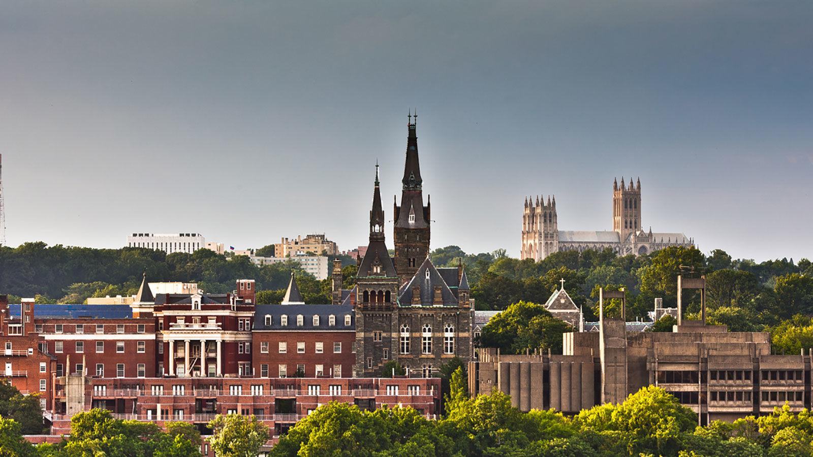 Georgetown University: английский + отдых