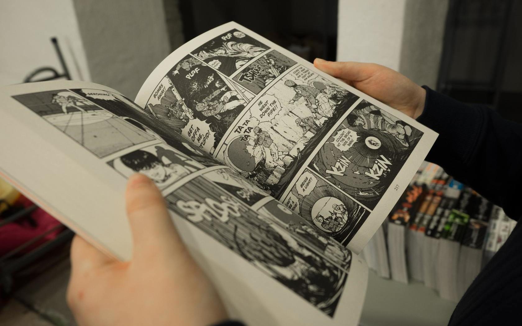 Comics in English: от идеи до публикации