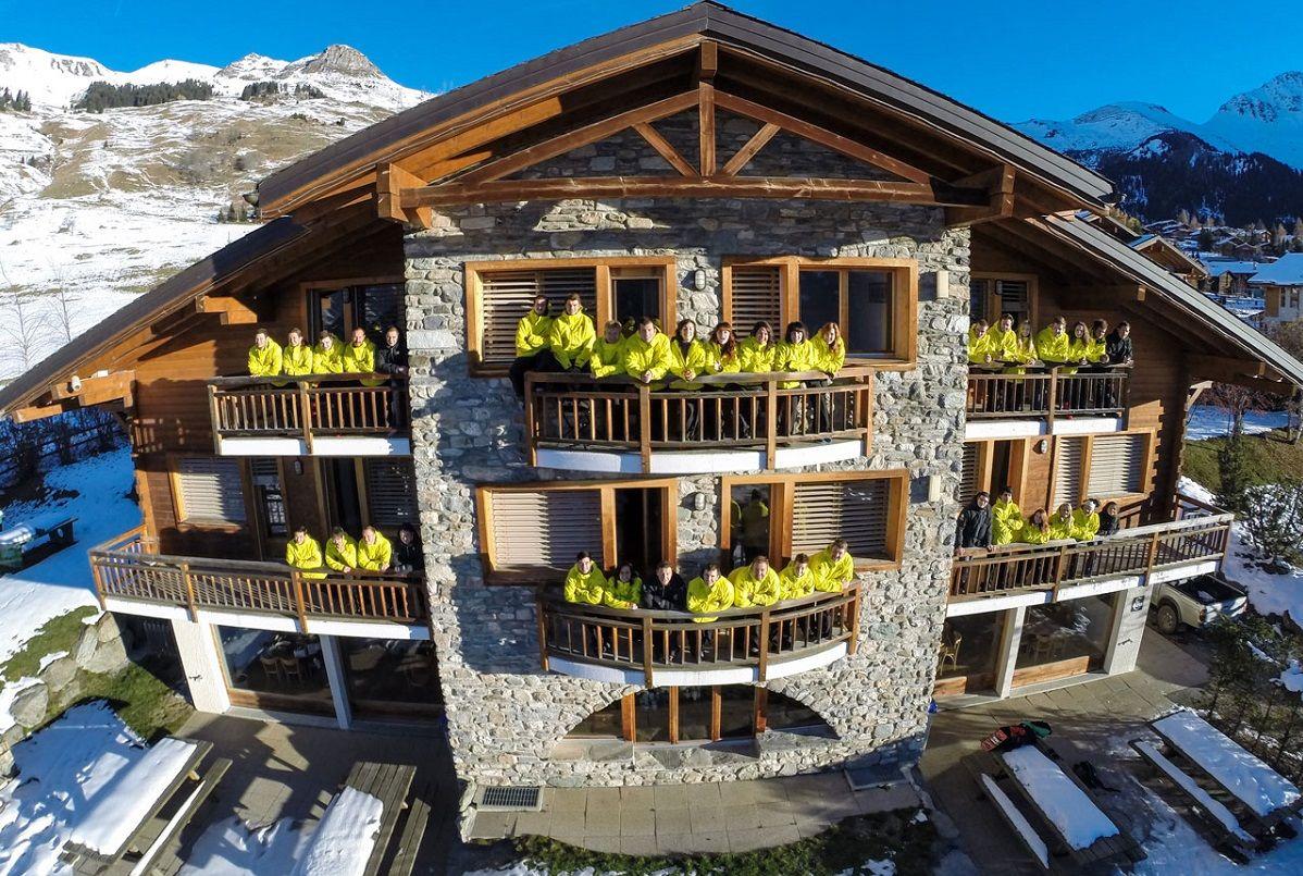Les Elfes: Лыжи и сноуборд в Швейцарии
