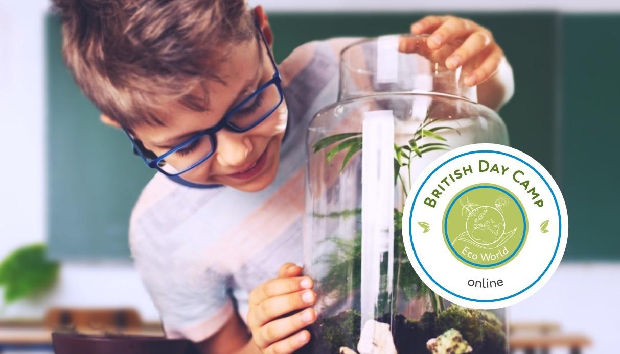 British Day Camp: Eco World, 8 – 25 июня, online