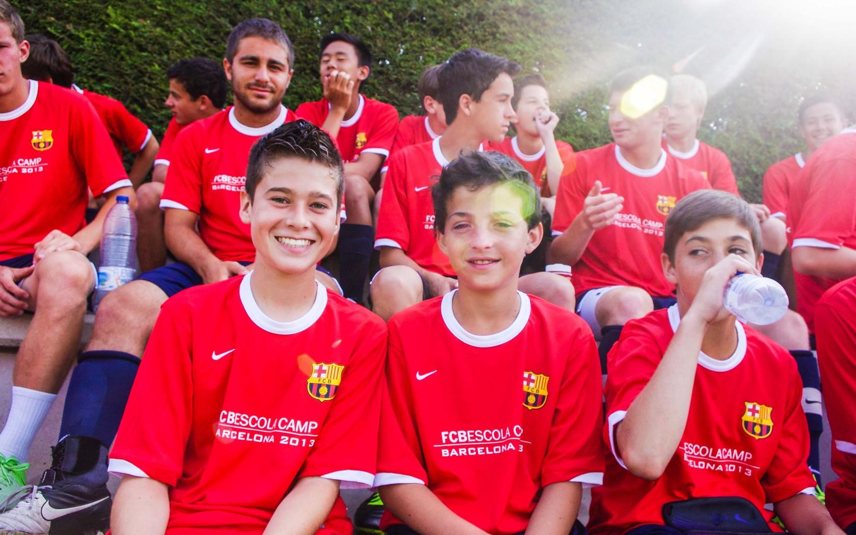 Barca Academy: Английский/испанский + футбол