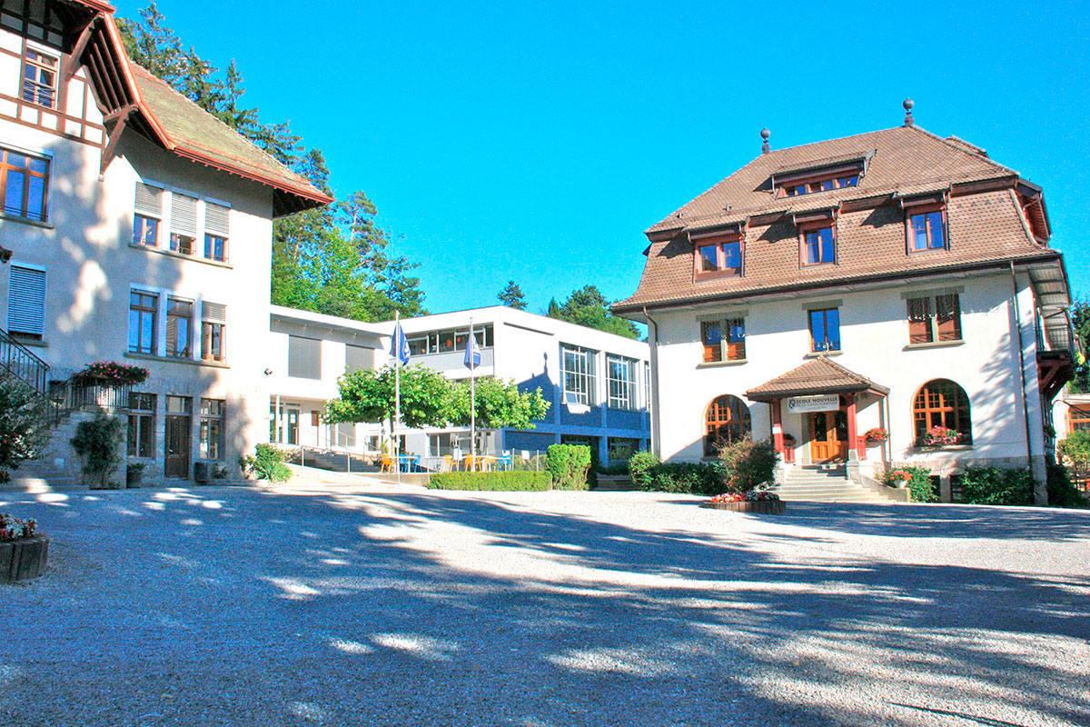 Ecole Nouvelle de la Suisse Romande: Удачное сочетание школы и лагеря