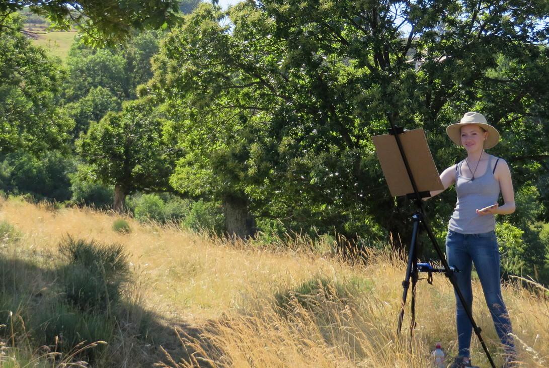 TASIS France: Французский прованс для начинающих художников