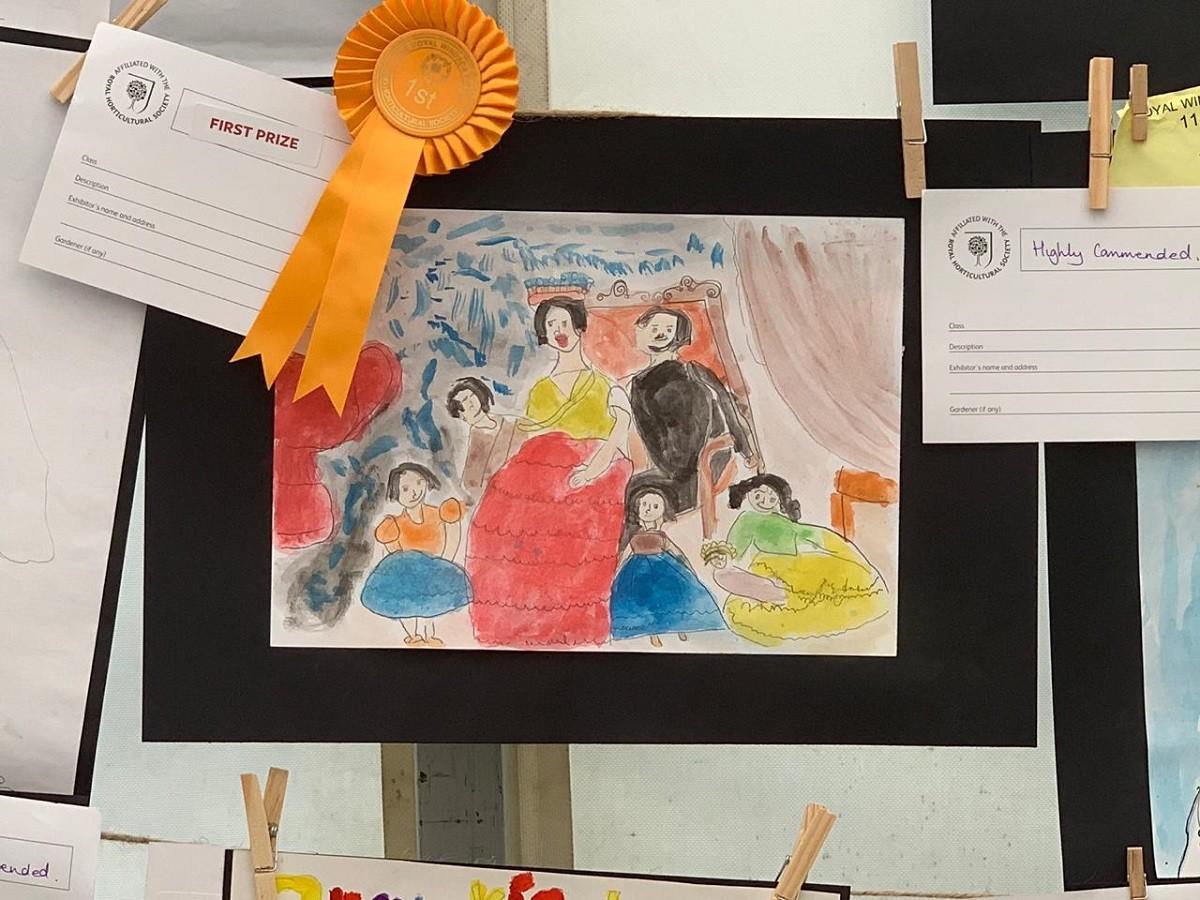 Маша, 5 лет,  Британский творческий лагерь