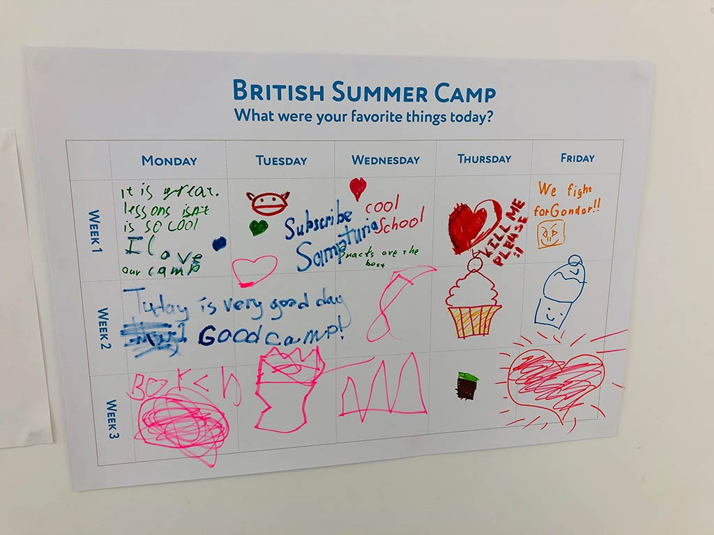 British Day Camp 2019: Filmmaking - Блоги 10