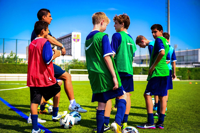 каникулы в Fc Barcelona Soccer Camp образование за рубежом со