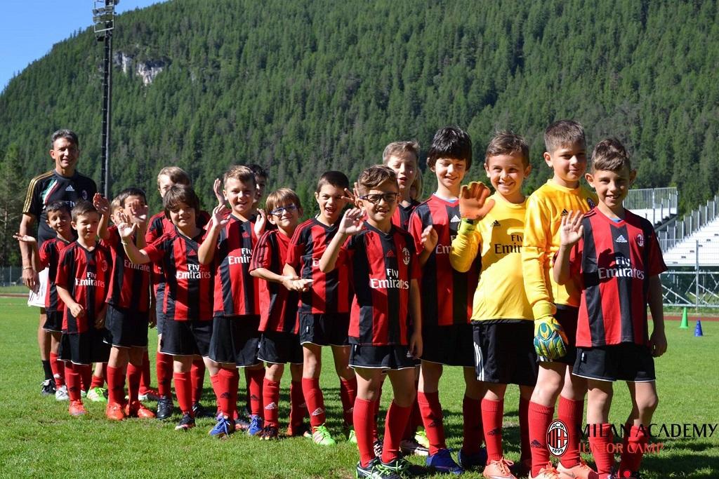 Летний футбольный лагерь милана